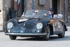 Mille Miglia, Gubbio 2017 (MikePScott) Tags: 356a1500speedstercarreragt camera car events gubbio italia italy millemiglia nikon28300mmf3556 nikond600 porsche transport umbria