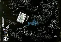graffiti and streetart in bangkok (wojofoto) Tags: graffiti streetart bangkok thailand wojofoto wolfgangjosten tags tag stickers wojo defs ipuls sadue wip sticker