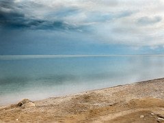 After the Storm (paulstewart991) Tags: canon70d canadian water georgianbay meaford morning beach shoreline storm sand watercolour painterly clouds