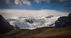 Vatnajökull (Jack Landau) Tags: vatnajökull glacier mountains clouds ice sheet glacial sky nature landscape vignette highland desert iceland jack landau