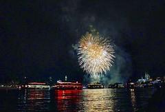 Fireworks (kathibro92) Tags: cologne köln kölnerlichter firework fireworks feuerwerk rhein dom skyline boat lights night