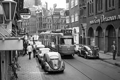 Reguliersdwarsstraat in 1969 (railfan3) Tags: amsterdam amsterdamcentrum 1969 reguliersbreestraat trams openbaarvervoer gemeentevervoerbedrijf gemeentevervoersbedrijf lijn24 gvb688 electronen 7g werkspoortrams 670699 amsterdamse amsterdams amsterdamsetrams amsterdamtrams former voormailgesporen inkorting tramlus trolleys tram tramcars transport tramway volkswagen vw tramwagens triebwagen trammaterieel trammetjes tramstellen tramwegmaterieel tramvoertuigen tramverkeer streetcars strassenbahnwagen ouderwetse oldtimers oudetrams klassieke vintagetrams streetscene straatbeeld straatplaat tramrijtuigen tramrails tramsporen nederlandse nederland gvb publictransport tramstramlijnen dubbelgelede reguliersdwarsstraat