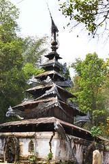 Temple (@Mark_Eveleigh) Tags: asia asian burma burmese east indochina myanmar south pa o tribe ethnic shan state buddhist temple pagoda