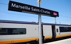 Eurostar 373 (218 & 217) / Marseille Saint-Charles (Sammy4044) Tags: euro star class 373 old set marseille saint charles london st pancras lyon south france med 217 218