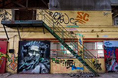 Lost Place V (bennibenniebenny) Tags: industrie industry fabrikhalle factory hall lostplaces grafity graffiti