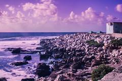 Sferracavallo Sunset (ilsiciliano_) Tags: sferracavallo sunset tramonto mare sea nd filtro flter rocce vento palermo sicilia italia photo canon treppiedi nuvole summer cloudy landscape landscapes paesaggio