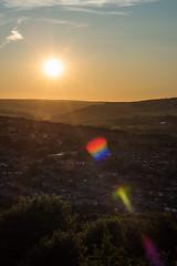 DAN_8833 (dan_c_west) Tags: nikon d750 sheffield bole hill sunset sunstar lens flare view