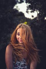 Romy_fin-58 (Michel Kort Fotografie) Tags: groen red redhair redhead smile eye lomo