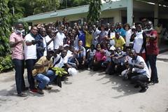 Célébration de la journée de Mandéla par les YALI Bénin (U.S. Embassy Cotonou) Tags: mandela celebration yali cnhu ambassade usa benin salubrité nettoyage