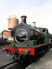IMG_6285 - GWR Hudswell Clarke Saddle Tank 813 (SVREnthusiast) Tags: severnvalleyrailway svr severnvalley severn valley railway gwrhudswellclarkesaddletank813 gwr hudswellclarke saddletank 813