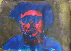 Gehen wir (raumoberbayern) Tags: acryl acrylic painting malerei robbbilder sketchbook skizzenbuch portrait