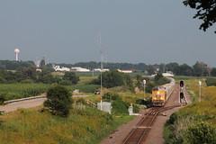 UP 8192 (CC 8039) Tags: up csx bnsf trains es44ac ac44cw milledgeville illinois