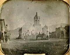 Saltillo Convento de San Francisco, ca1847 (jerodamor@yahoo.com.mx) Tags: daguerrotipo historia saltillo coahuila méxico