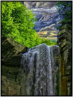 Taughannock Falls ~ Taughannock State Park ~ Ulysses NY