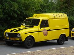 1986 Renault 4 F6 (harry_nl) Tags: netherlands nederland 2017 leiden renault 4 f6 combi nx53bn sidecode4