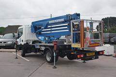 DSC_0011 (richellis1978) Tags: truck lorry hgv lgv cannock haulage transport logistics nissan cabstar ap access platforms yn14ewe