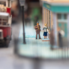 Fancy a Pint, love? - Explored (DobingDesign) Tags: models tiny streetphotography set people diecast streetscene museum macro depthoffield