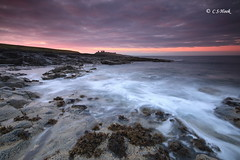Summer Sunset Dream`s (carmellestewarthook) Tags: dunstanburgh castle sunset seascape canon 70d lee northumberland craster
