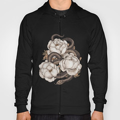 http://bit.ly/2uFKCQr (Society6 Curated) Tags: society6 art buy fashion style hoodies clothes clothing street wear floral flowers flower illustration drawing red green brown earth earthtones