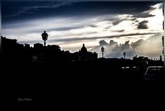 Light through the sky (Alireza Sheikhan) Tags: light sky silhouette sunset golden cloud florence italy canoneos700d