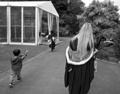 The Graduate (Ian@NZFlickr) Tags: graduate auckland bw