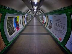 Zero Chance (Douguerreotype) Tags: uk gb britain british england london city urban tube metro subway underground tunnel symmetry transport travel