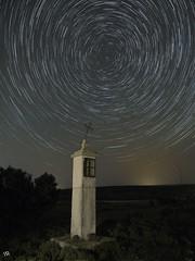 Circumpolar camino a San Agustín (:) vicky) Tags: circumpolar cielo sanagustín teruel stars trails vickyepla visionario olympus olympusdigitalcamera