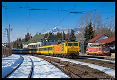 RegioJet 162 112, Štrba 20-02-2017 (Henk Zwoferink) Tags: štrba prešov slowakije knodel henk zwoferink skoda regiojet rj 162 112