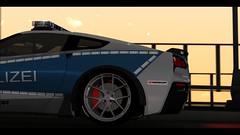 Corvette Stingray Polizei Car By Klv_3D (gabrielaparessido) Tags: corvette stingray polizei car by klv3d carros gtasanmodsdetextura realista enb enbpcbom2017