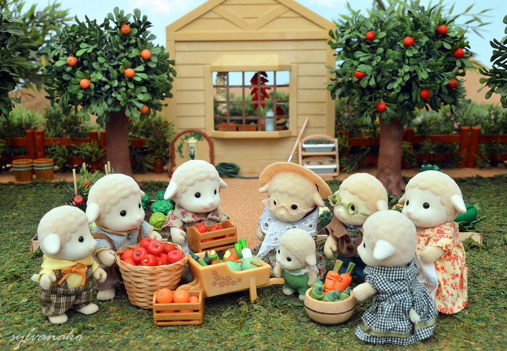 The world 39 s best photos of diorama and food flickr hive mind - Sylvanian families cuisine ...