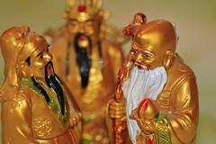 Three wise men - Fuk Luk Sau (Greenstone Girl) Tags: three wise men macromondays fuk luk sau