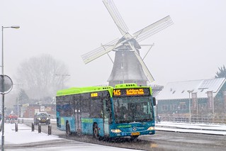 Connexxion TCR bus 503-1014, Lijn 145 | Amsterdam Langsom