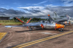Reworked Magister at RIAT 2017. (Ayronautica) Tags: magister 2017 july hdr aviation snapseed ayronautica