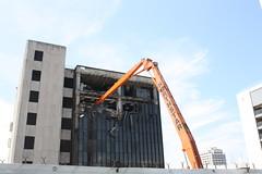 Demolition (ktmqi) Tags: jerseycity journalsquare newjersey hudsoncounty urban demolition att