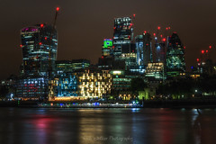 Future City (Rich Walker75) Tags: london cityscape longexposure longexposures longexposurephotography landscape landscapephotography landmark city lights sky river thames england architecture buildings building