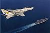 VF-21 F-14A Tomcat BuNo 161608 (skyhawkpc) Tags: navy usn naval aviation aircraft airplane usnavy vf21freelancers f14a tomcat 161608 nk203 inflight grumman ussindependence cva62 operationdesertstorm 1991 officialusnavy military