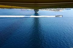 Passing (KOSTAS PILOT) Tags: greece peloponese achaia rionantirrionbridge blue sea yacht speedboat summer ionion mediterranean ελλάδα πελοπόννησοσ αχαιασ καλοκαίρι γεφυραριουαντιριου μπλε θαλασσα ιονιον μεσογειοσ ταχύπλοο ταχύτητα speed korinthosbay patraikosbay