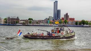 Stoomsleepboot, Maastoren, Nieuwe Maas, Rotterdam, Netherlands - 5198