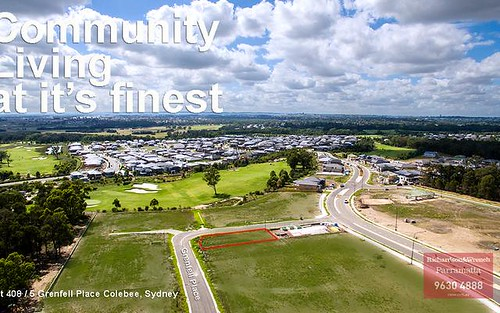 Lot 408 (5) Grenfell Place, Greenway Estate, Colebee NSW