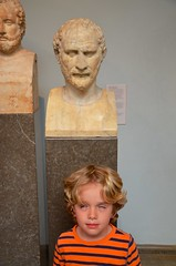 Everett & Demosthenes (Joe Shlabotnik) Tags: everett sculpture london statue 2017 britishmuseum april2017 justeverett bust museum england afsdxvrzoomnikkor18105mmf3556ged faved
