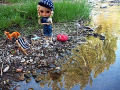 Blythe fishing pescando