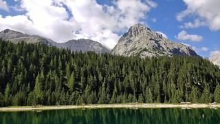 Tajakopf (2450m), Tirol - Austria with Ehrwalder Almsee (1465m) in front (2450m) (094724703)