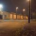 Angyalföld MÁV állomás és környéke éjszaka