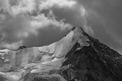 icy face (Julien Stalder) Tags: switzerland valais wallis zinal obergabelhorn alps mountain rock glacier snow ice clouds high altitude mountet monochrome leica elmarit ngc