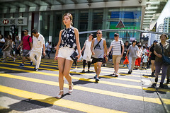 Saturday morning (人間觀察) Tags: leica m240p leicam leicamp f20 f2 hong kong street photography people candid city stranger mp m240 public space walking off finder road travelling trip travel 人 陌生人 街拍 asia girls girl woman 香港 wide open ms optics apoqualiag 28mm apoqualia optical