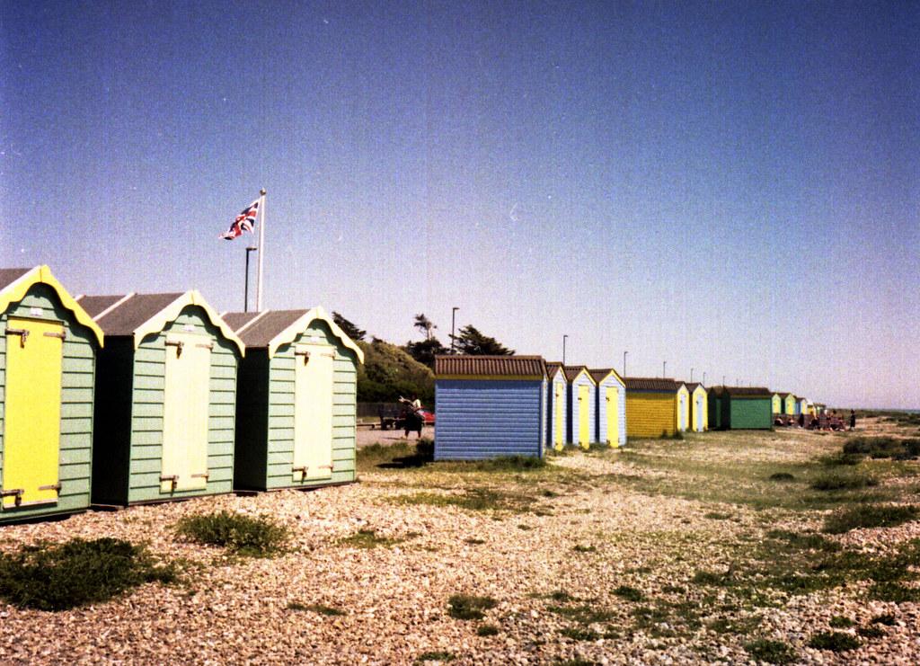 Patriotic Beach Huts