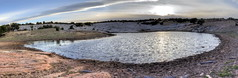 Sundown at Lower Reservoir (Chief Bwana) Tags: az arizona lowerreservoir pariaplateau navajosandstone brainrock vermilioncliffs panorama psa104 chiefbwana