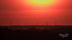 Sunset Time (FgKs By DelocK OFF/ON) Tags: sunset sundown sun summer landscape eolien eoliennes paysage couchédesoleil claudedelockphotographie claudedelock filmographikestudio fgks bretagne morbihan malestroit