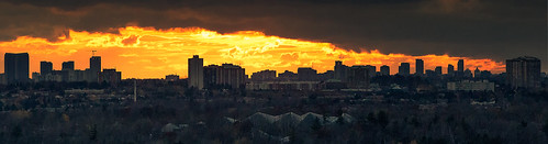 Scarborough Skyline Sunset.