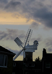 Holgate Windmill from New Lane, evening